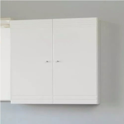 Eastbrook Bonito 2-Door Wall Hung Storage Unit - 660mm Wide - White